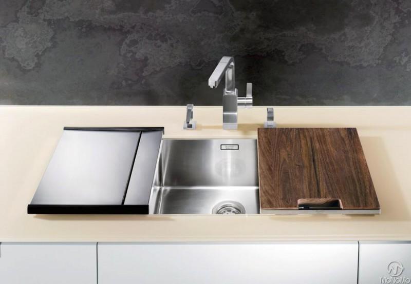blanco set holzschneidbrett und anlegbarertropf sp len armaturen zubeh r. Black Bedroom Furniture Sets. Home Design Ideas
