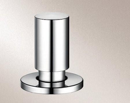 blanco zugknopf rund messing verchromt hochglanz metall sp len armaturen zubeh r. Black Bedroom Furniture Sets. Home Design Ideas